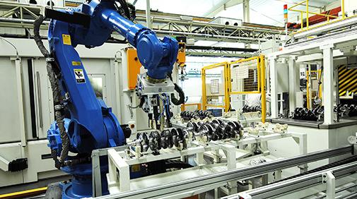 曲轴自动化生产线