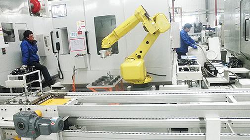 连杆加工自动化生产线