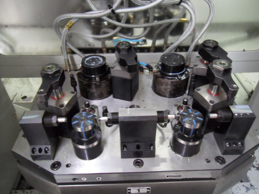 连杆精铣面液压夹具