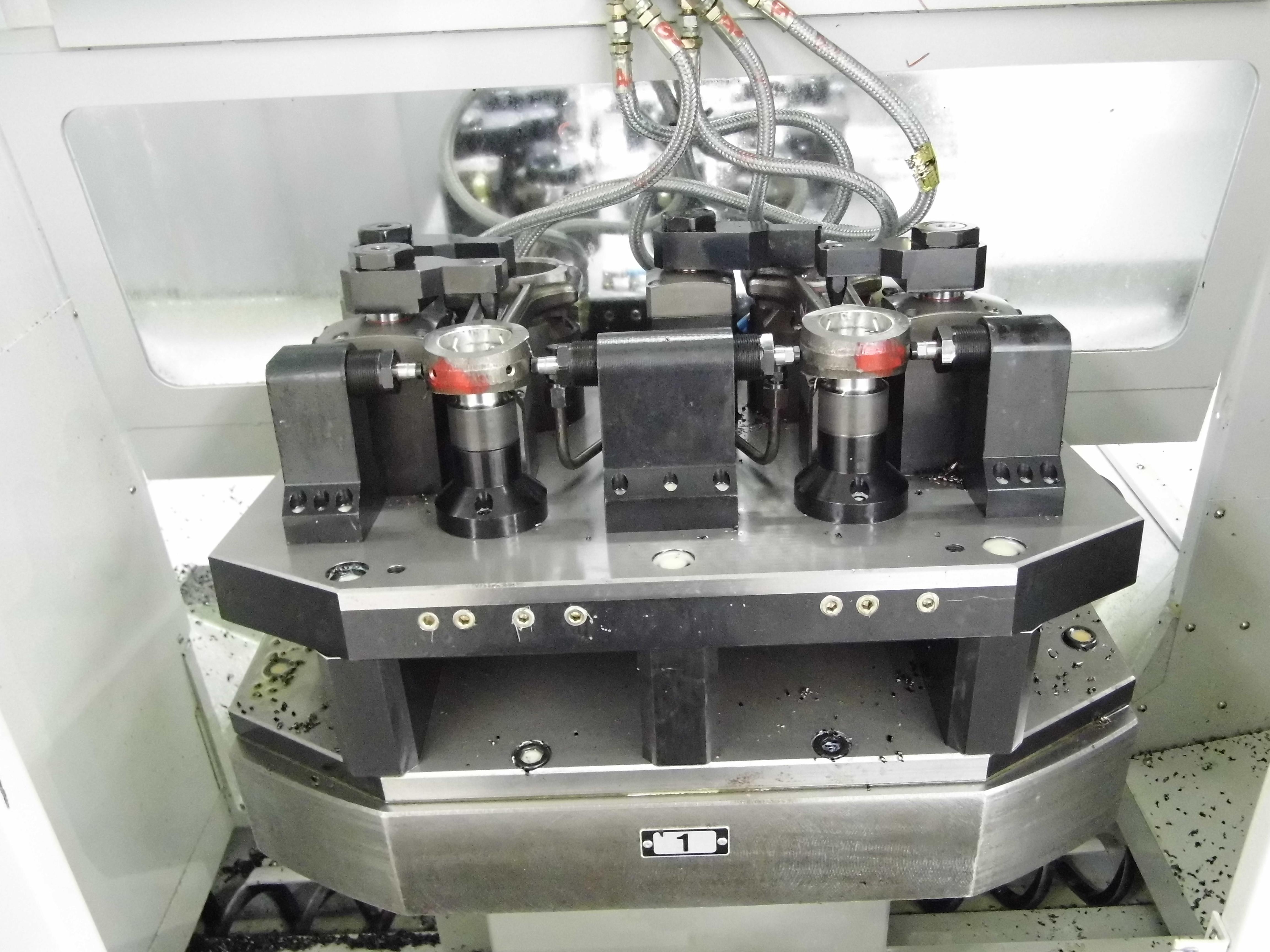 连杆铣两端面液压夹具