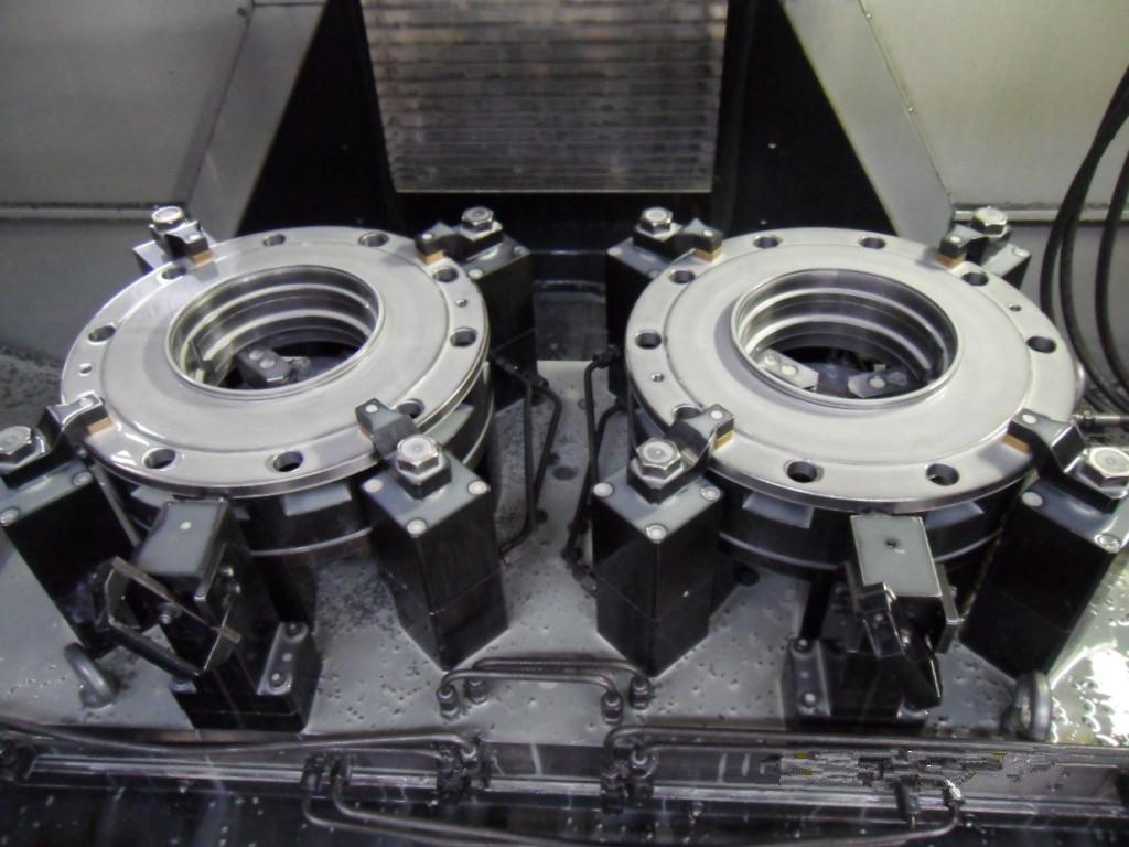 轮毂钻孔液压夹具